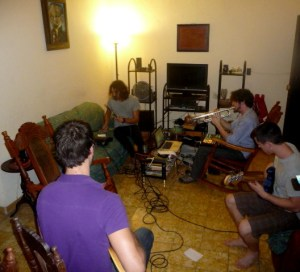 Rehearsal in my living room, Will Magid 4, Havana